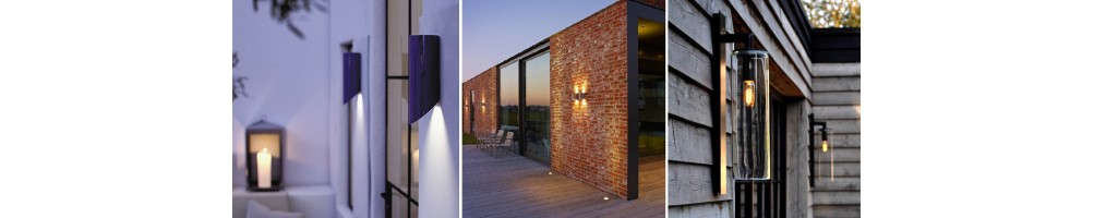 Buy outdoor wall lights online? Discover our big assortment!